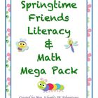 Springtime Friends Literacy & Math Mega Pack