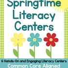 Springtime Literacy Centers {Common Core Aligned}