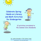 Springtime Literacy and Math Activities for Kindergarten