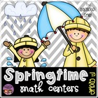 Springtime Math Centers {Aligned with the Common Core}