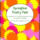 Springtime Poetry Pack