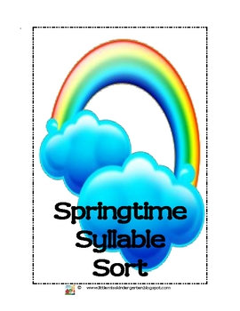Springtime Syllable Sorts