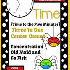 Springtime Time To the Five Minutes Center Games For 1.MD.B.3