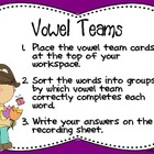 Springtime Vowel Teams Center