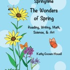 Springtime-What's In The Garden? Reading, Writing, Math, S