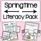 Springtime is FUN Time Literacy Centers {10 Centers!}