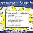 Square Facts Activity Pack