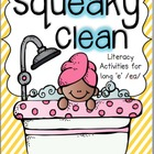 Squeaky Clean! Literacy Activities for long e /ea/