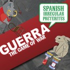 SquidForBrains Guerra: Toledo Spanish 2 Learning Card Game