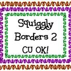 Squiggly Borders 2...Commercial Use OK!