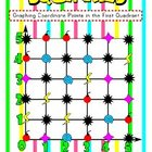 Squinkies Graphing Coordinate Points File Folder Game