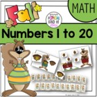 Squirrel Math Activities