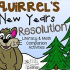 Squirrel's New Year's Resolution Book Companion