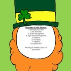 St. Paddy&#039;s Day Reading and Math Pack
