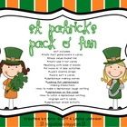 St. Patrick Pack O' Fun