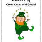 St. Patrick's Color, Count, and Graph!
