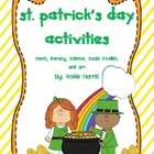 St. Patrick&#039;s Day Activities-All Subjects!