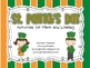 St. Patrick's Day - Activities for Math and Literacy