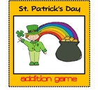 St. Patrick's Day Addition Game