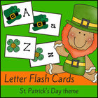 St Patrick's Day Alphabet Cards