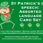 St. Patrick's Day Assorted Language Cards