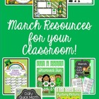 St. Patrick's Day BUNDLE - Activities for Primary Grades