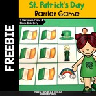 St. Patrick's Day Barrier Game - REVISED March 2014