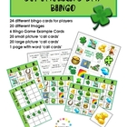 St. Patrick's Day Bingo  {24 cards}