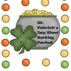 St. Patrick's Day Blend Sorting Packet