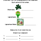 St. Patrick&#039;s Day Classroom Scavenger Hunt