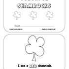 St. Patricks Day: Colorful Shamrocks Emergent Reader