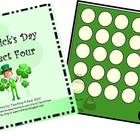 St. Patrick's Day Connect Four Game