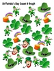 St Patrick's Day Count & Graph  - Common Core Measurement & Data