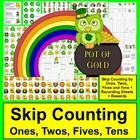 St. Patrick's Day Counting and Skip Counting Math Center