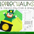 St. Patrick's Day Craft and Writing {Leapin Leprechauns}