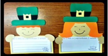 St. Patrick's Day { Craftivity } - Lucky Little Leprechauns