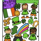 St. Patrick&#039;s Day {Creative Clips Digital Clipart}