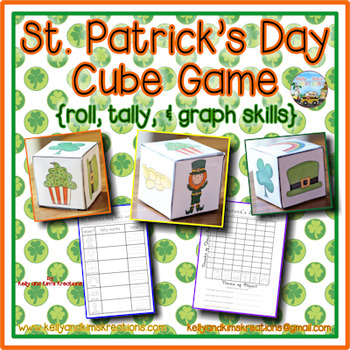 St. Patrick's Day Cube Game