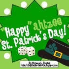 "St. Patrick's Day Dice Game (""Happy""ahtzee St. Patrick's Day!)"