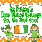 St Patrick's Day Dice Race Games (20, 50 and 100)