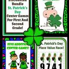 St. Patricks Day Discounted Bundle - Add, Sub and Place Value
