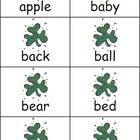 St. Patrick's Day Dolch Nouns Sight Words eBook