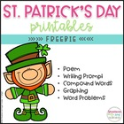 St. Patrick's Day ELA and Math Printables FREEBIE