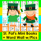 St. Patrick's Day Emergent Readers and Harder-3 Rdg Levels