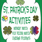 St. Patrick's Day Fun Activities for the Classroom - Early