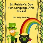 St. Patrick's Day Fun Language Arts Packet