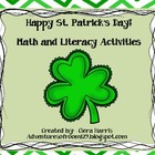 St. Patrick's Day Fun Math and Literacy Unit