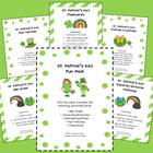 St. Patrick's Day Fun Pack (Math and Literacy Ideas)