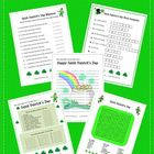 St. Patrick's Day Fun: Rhymes,Word Scramble, Word Search,