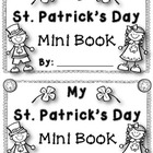 St. Patrick's Day Fun {St. Patrick's Day Mini Book}
